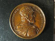 King Henry II Jean Dassier medal 1730s 38.5mm 25.37g England