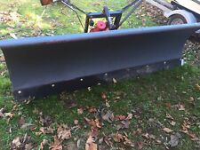 WESTERN UNI-MOUNT 8 FT. SNOW PLOW With Push Plates For Ford F250 F350
