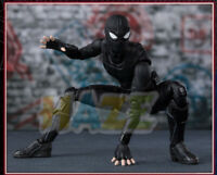 "Spider Man Far from Home Black Suit Ver. PVC Action Figure 6"" Model Toy Present"