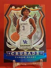 New listing Tyrese Maxey ROOKIE CARD RC⭐️2020-21 Prizm Crusade RED WHITE BLUE #94📈 RWB