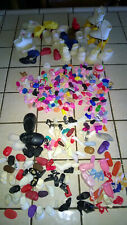 vtg Old doll shoes Barbie Skipper kelly american girl 50's squishy Heels pe 22