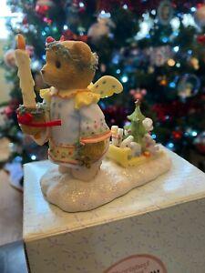 Cherished Teddies Christmas Isabel 4002844 boxed ornament figurine