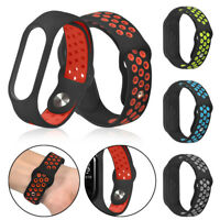 Replacement Soft Sport TPE Wristband Wrist Strap For Xiaomi Mi Band 3 Watch NEW