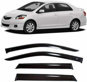 For Toyota Yaris Sd/Belta Sd 2005-2012 Window Visors Rain Guard Vent Deflectors