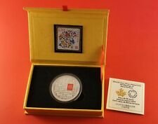 2014 Canada 50 Cent Coin 100 Blessings Of Good Fortune Silver Plated
