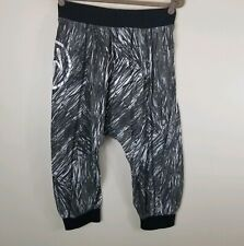 Zumba Spicy Pants Crop Black White Small