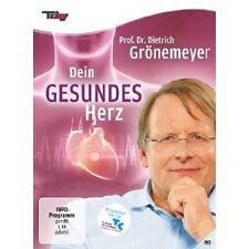PROF. DR. DIETRICH GRÖNEMEYER: DEIN GESUNDES HERZ  DVD NEU