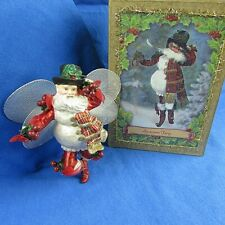 "Mark Roberts Snowman Fairy Christmas Ornament 6"" Tall With Original Box"