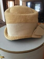 Vintage Empress Hat Made In West Germany & Hat Box Cs
