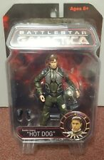 Battlestar Galactica Action Figure Brendan Costanza Hot Dog New