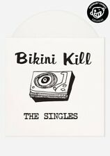 Bikini Kill The Singles Newbury Comics Exclusive  Ltd WHITE Vinyl LP New