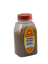 SMOKED COARSE SEA SALT, FRESH NATURAL PURE SPICES HERBS