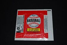 1974 Topps Baseball Wrapper w/ T-Shirt ad-Nm