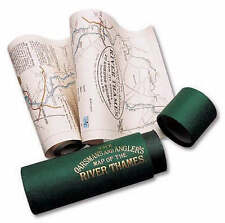The Oarsman's and Angler's Map of the River Thames 1893: From Its Source to Lond