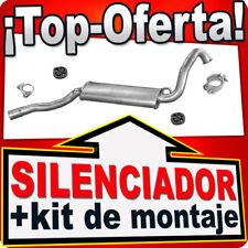 Silenciador Intermedio AUDI COUPE 80 90 1.6TD 1.6 1.8  79-91 Centro Escape RRR