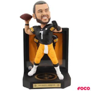 Ben Roethlisberger Pittsburgh Steelers Framed Jersey Bobblehead NFL