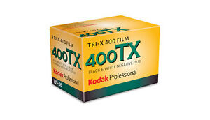 Kodak TRI-X 400TX 35mm 36 Exposure Black and White Film - FREE Delivery