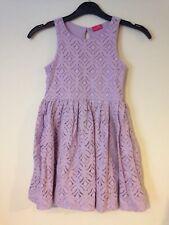 Next Girls Dress Age 7 Years - Purple Dress.