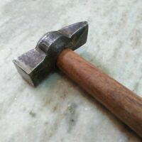 Antique Style Hammer Wooden Handle Collectible