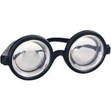 Nerd Glasses Round Bubbles Glasses Bug Eyes Specs Coke Bottle Costume Goggles