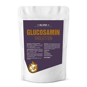 500 GLUCOSAMIN TABLETTEN - HOCHDOSIERTES GLUCOSAMIN - VEGAN - Mensch & Tier