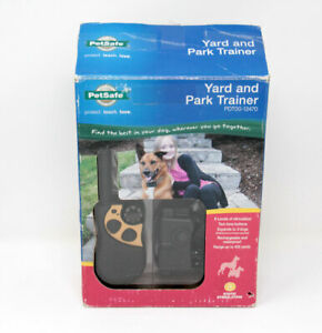 Petsafe Yard and Park Trainer Dog Training Collar Open Box PDT00-12470