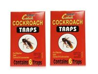 Lot de 12 Pieges à Cafard, blattes Colle glue professionnel neuf.