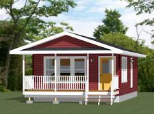 18x32 Tiny House -- 576 sqft -- PDF Floor Plan -- Model 2C