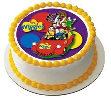 The Wiggles Edible Kids Birthday Party Cake Decoration Topper Round Image