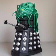 DOCTOR WHO  CUSTOM BLACK DALEK WITH  KALED MUTANT  6 INCH  MUST BE SEEN