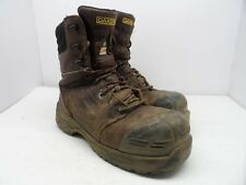DAKOTA Mens 8'' 8410 Composite Toe Composite Plate Injected Work Boot Brown 10.5