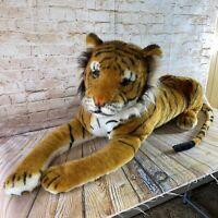 Melissa and Doug Large Bengal Tiger Plush Stuffed Animal Toy Jumbo Giant 77 inch
