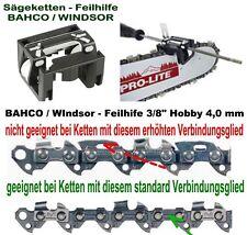 """Feilhilfe BAHCO leichtes Kettenschärfen 3/8"""" Hobby - Kette ohne Sicherheitsglied"""