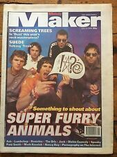 Melody Maker 13/7/96 Super Furry Animals, Screaming Trees, Lambchop, Jah Wobble