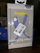 heyday micro USB charging cable - Blue