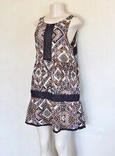 Element Women's Borderline Dress – Rust sz M