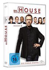 6 DVDs * DR. HOUSE - STAFFEL / SEASON  8  # NEU OVP +