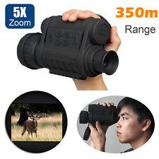 6X50 Infrared IR Digital Night Vision Video Camera Monocular Scope Recorder DVR