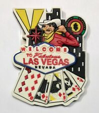Las Vegas Sign Casino Playing Cards Magnet Vic