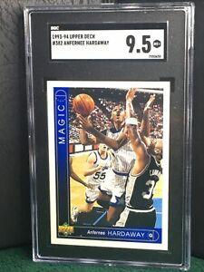 1993-1994 Upper Deck 🏀, Anfernee Hardaway #382 RC Card...SGC 9.5 Mint+ 🔥🔥PSA