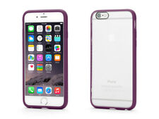 Griffin iPhone 6s/6 Reveal Thin Slim Case Cover & Screen Protector Clear Purple