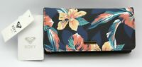 Roxy Hazy Daze Damen Portemonnaie Geldbörse dreifach faltbar schwarz Blumen
