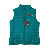 Story Book Stable's Puffer Vest Womens Size M Full Zip Sleeveless Casual Landway