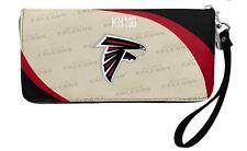 Atlanta Falcons NFL Curve Zip Organizer Ladies Wallet