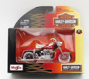 Maisto 1:18 scale Harley Davidson 1962 FLH Duo Glide Series 25 Motorcycle toy