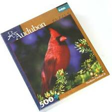 Audubon Northern Cardinal II Puzzle Buffalo Games Sealed New in Package 500 Pcs
