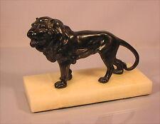 Alte Skulptur Löwe Leon um 1900