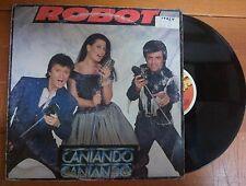 DISCO LP 33 GIRI - ROBOT - CANTANDO CANTANDO - FIVE1987 - VG-/VG--