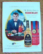 1949 Schenley Whiskey Ad Tony Martin