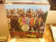 THE BEATLES Sgt Peppers Lonely vinyl LP Capitol Records Rainbow EX mono